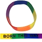 Born This Way Rainbow Pride Wristband