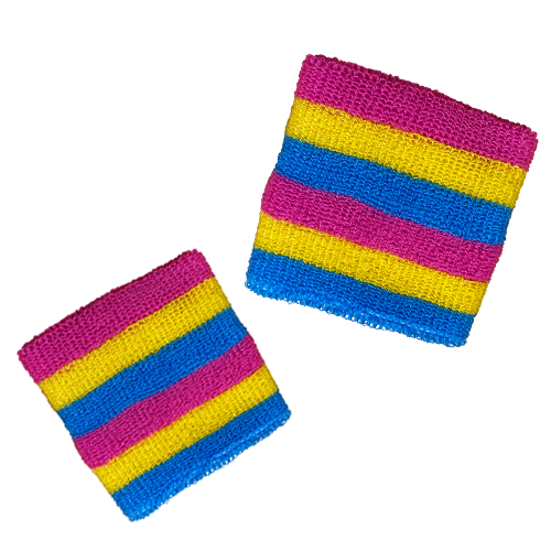 Pansexual Pride Wristband (1 pair)