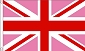Union Jack (Pink) Flag 2ft x 3ft Printed Polyester