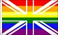 Rainbow Union 3ft x 5ft  Printed Polyester