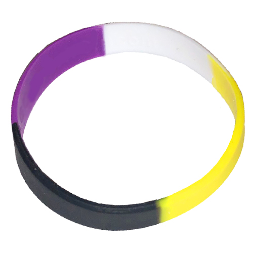 Non Binary Pride Wristband