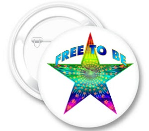 Free to Be Button