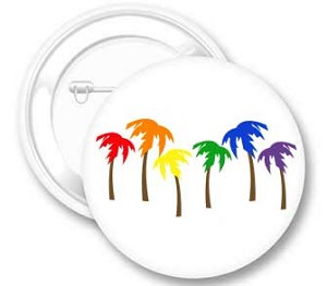 Palm Trees Button