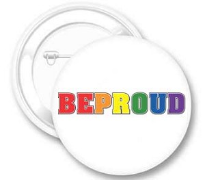 Be Proud Button