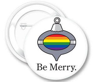 Be Merry Button