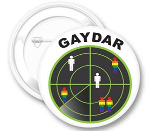 Gaydar Button