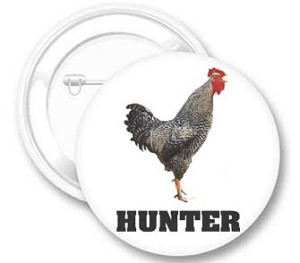 Cock Hunter Button