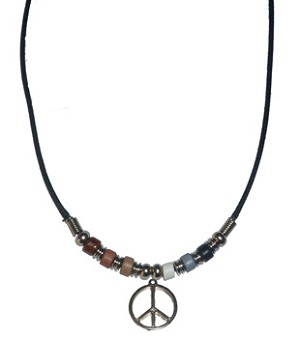 Bear Pride Peace Necklace