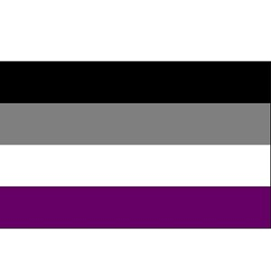ASexual Sticker  (2'' X 3'')