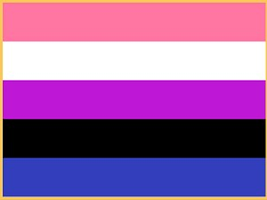Genderfluid Flag Lapel Pin