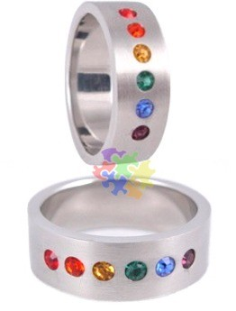 Freedom Pride Ring (size 12 only)