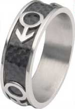 Carbon Male Venus Ring Size 13 only