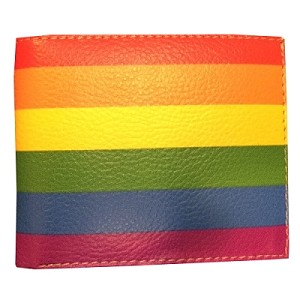 Rainbow Leather Wallet