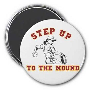 Step Up To The Mound Magnet
