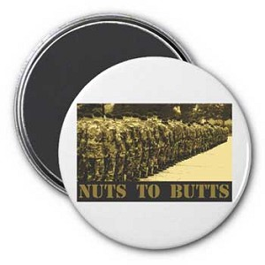 Nuts to Butts Magnet