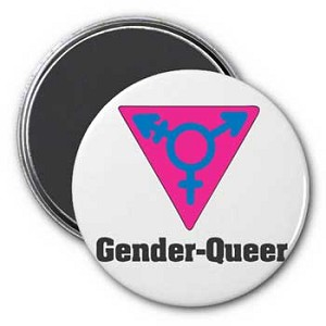 Gender Queer Magnet