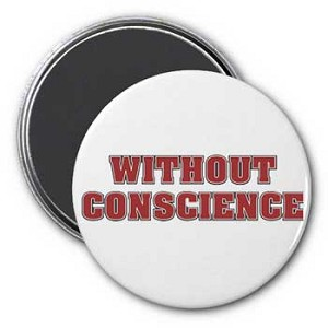 Without Conscience Magnet