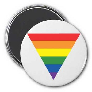 Rainbow Triangle Magnet