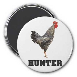 Cock Hunter Magnet