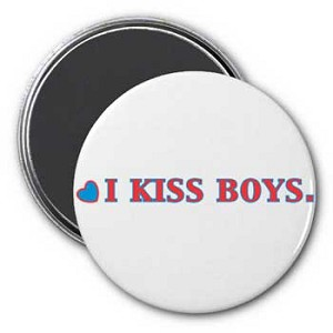 I Kiss Boys Magnet