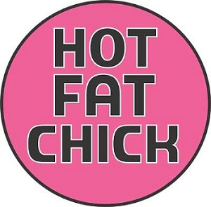 Hot Fat Chick Mouse Pad
