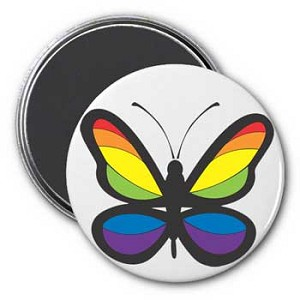 Butterfly #2 Magnet