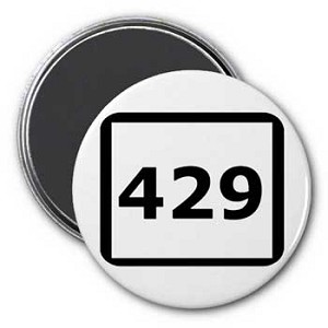 429 (numerical GAY) Magnet