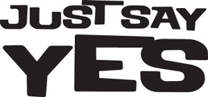 Just Say Yes Mouse Pad