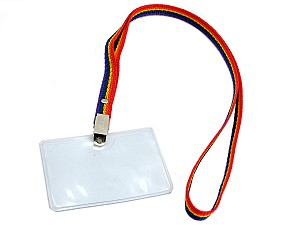 Badge Holder Lanyard