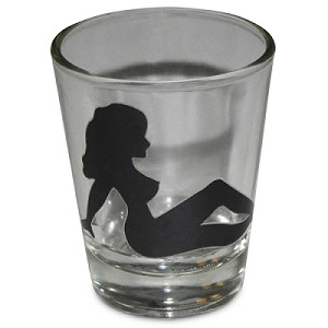 Mudflap Girl Shot Glass