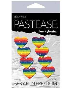 Rainbow Hearts Pastease