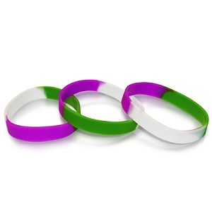 Gender Queer Pride Wristband